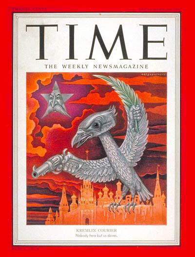 Capa da Revista Time de 1951