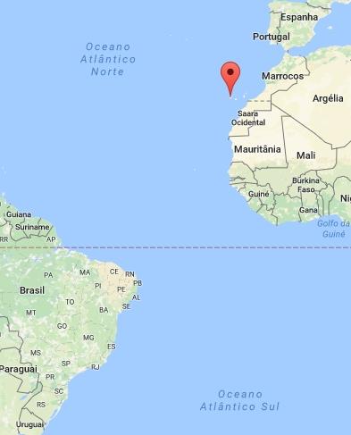 Ilhas Canárias, Possessão de Espanha, Atlântico Norte