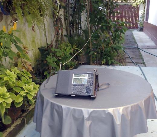Sony ICF-SW77 Longwire