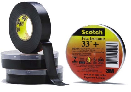 Fita isolante com filme de PVC com filtro ultra violeta 3M