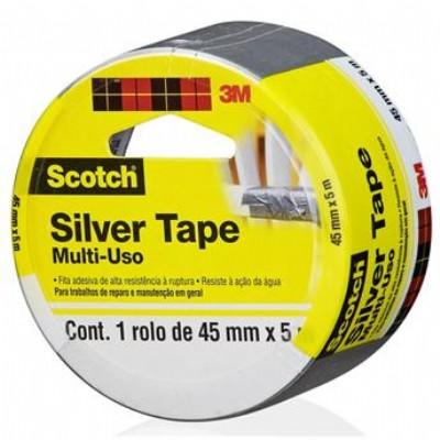 Fita adesiva Silver Tape 3M