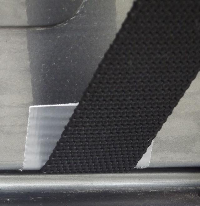 Pintura protegida através de fita adesiva Silver Tape da 3M