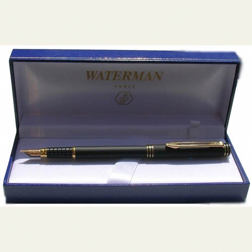 Waterman Exclusive Fountain Pen - 18K Gold nib