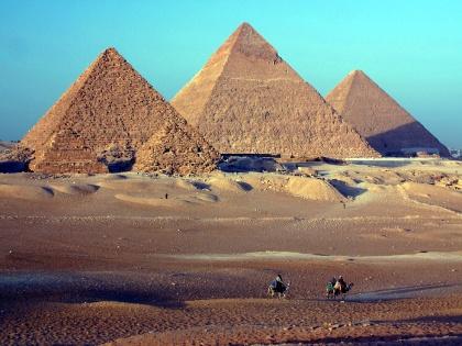 Piramedes de Giza - Egito