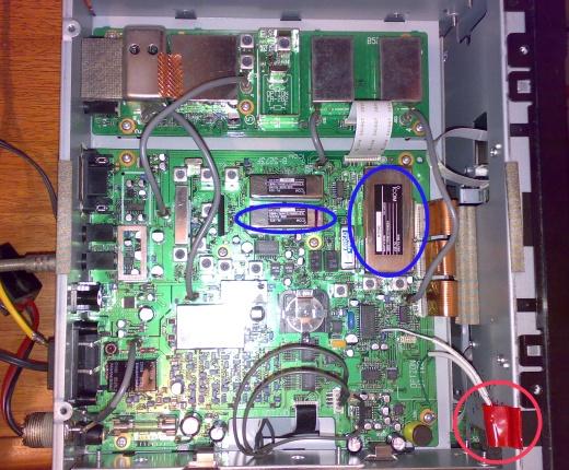 Filtros Opcionais do Receptor de Comunicações Icom R75