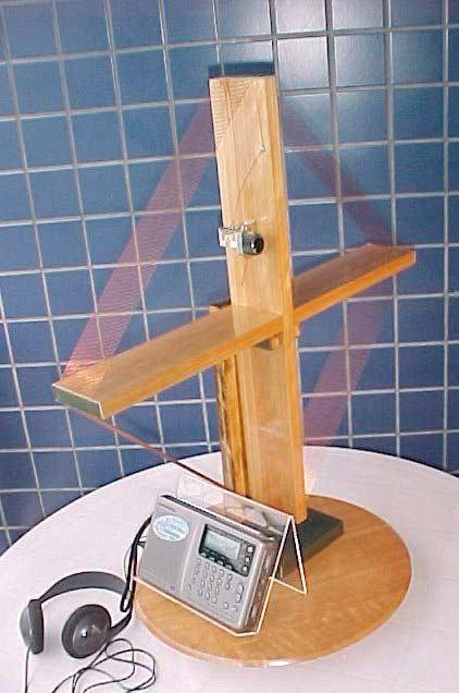 Antena de quadro do rádio galena