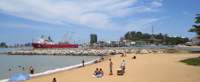 Porto de Imbitiba da Petrobrás, em Macaé, Rio de Janeiro, Bacia de Campos