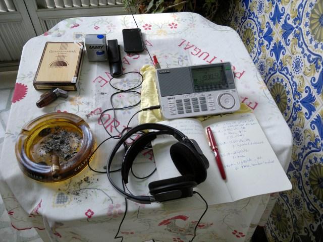 Radioescuta em fim de semana
