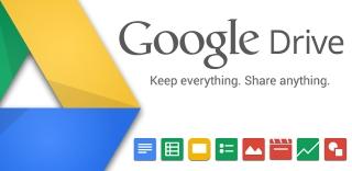 Google Drive - Plataforma de armazenamentos de arquivos e aplicações em nuvem