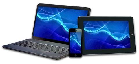 Integração e sincronização de dados entre desktop, tablet e smartphone